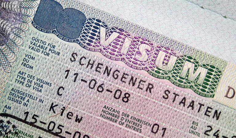Picture of Schengen Visa
