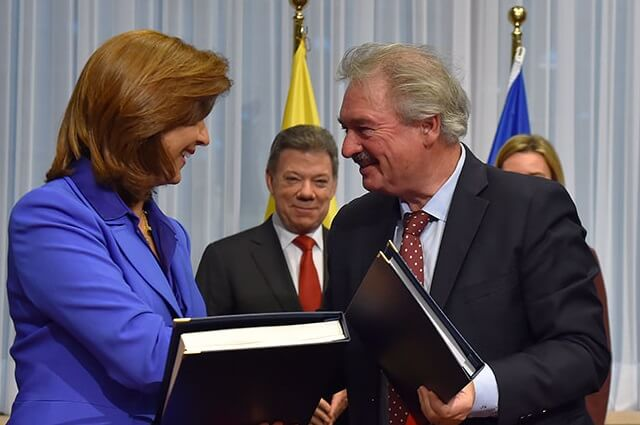 Colombia and EU sign visa exemption for Schengen countries