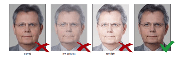 Visa Photo Requirements: Focus and Contrast