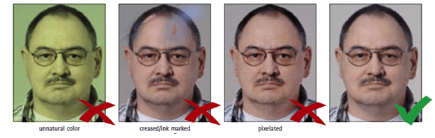 Visa Photo Requirements - Quality
