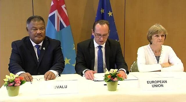 EU, Tuvalu sign visa waiver agreement