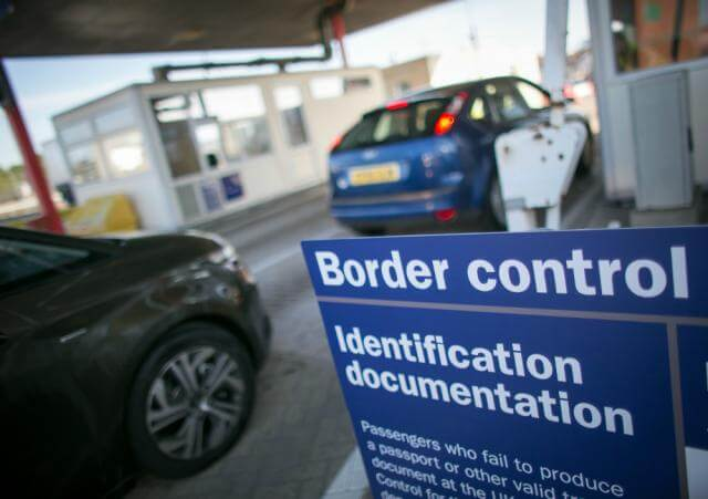 Schengen internal border controls