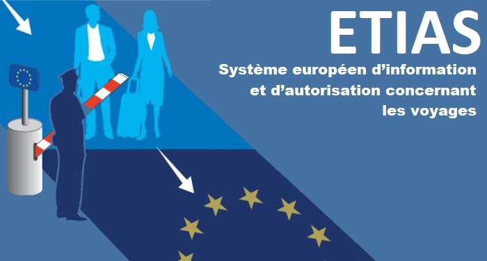 ETIAS – Système européen d'information et d'autorisation concernant les voyages