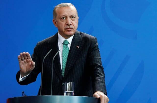 the President of Turkey Recep Tayyip Erdogan