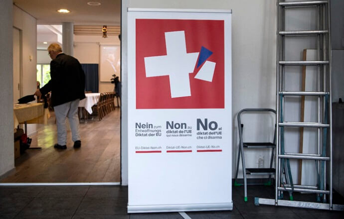 Switzerland's Vote to Tighten Gun Laws Safeguards Its Schengen Membership