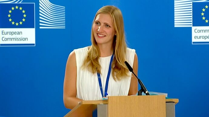 The spokesperson of the Commission Natasha Bertaud
