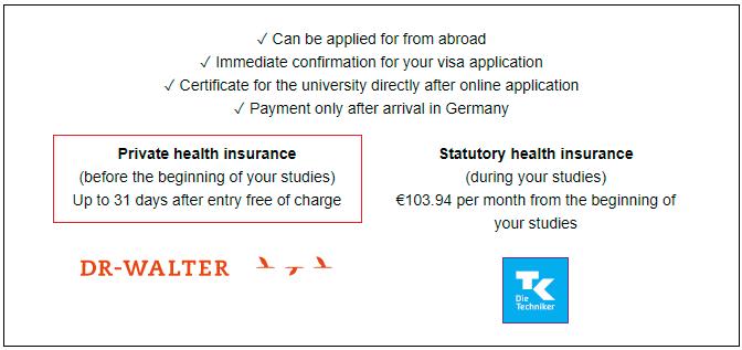 تأمين صحي مجاني للطلاب الدوليين في ألمانيا